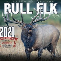 2021 Bull Elk Calendar, Bull Elk Wall Calendar 2021, Kings Bull Elk, Monster Elk Calendar