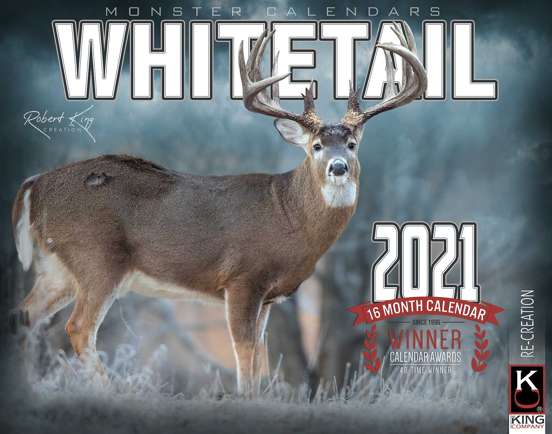 2021 Whitetail Deer Calendar Pictures