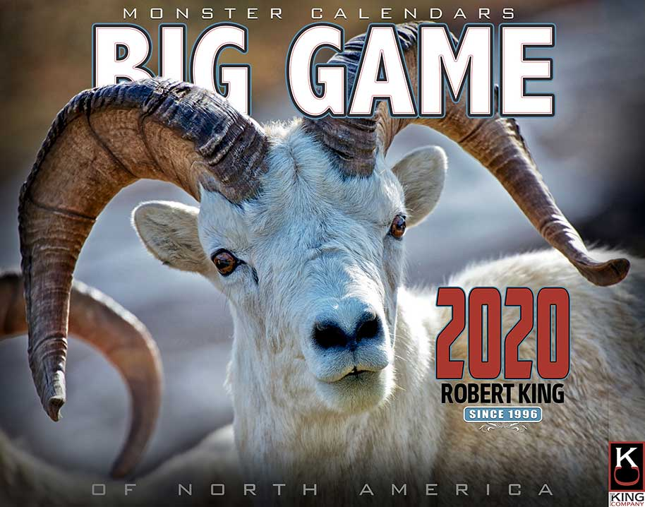 2020 Deer Rut Calendar 2020 Big Game of North America by Robert King | The KING Company