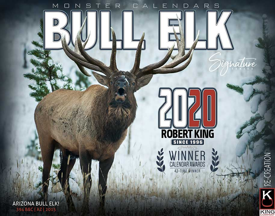 2020 Deer Rut Calendar 2020 Bull Elk Calendar by Robert King | The KING Company