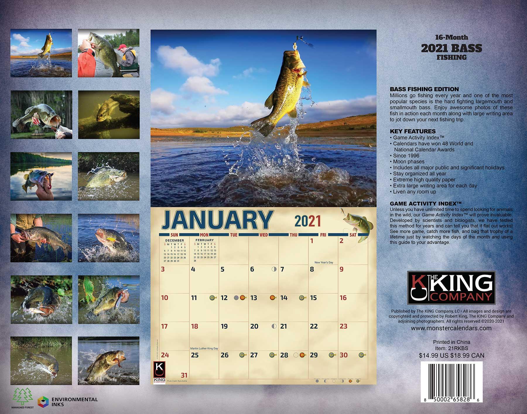 Lunar Fishing Calendar 2022.2021 Fishing Calendar 2022 Calendar