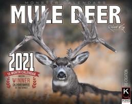 2021 Mule Deer Wall Calendar, Mule Deer Calendar 2021, Kings Mule Deer Calendar, Monster Mule Deer Calendar
